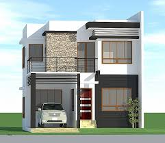 modern single house plans simple house design with floor plan in the philippines luxury small