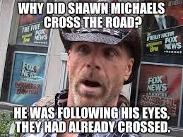 Shawn Meme - shawn michaels imgflip