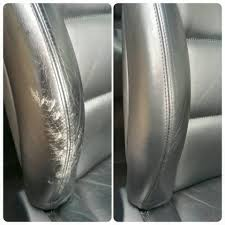 reparer trou de cigarette siege voiture restauration cuir tissu