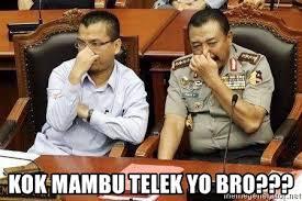 Yo Bro Meme - kok mambu telek yo bro polisi ngentut meme generator
