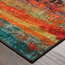 coffee tables multi colored area rugs bright multi colored area