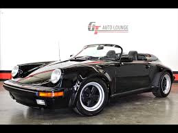 strosek porsche 911 1989 porsche 911 carrera speedster for sale in rancho cordova ca