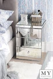 Best  Mirrored Bedside Cabinets Ideas Only On Pinterest - Bedroom ideas with mirrored furniture