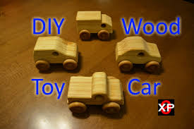 Homemade Wooden Toy Trucks by Diy Wooden Toy Cars Youtube