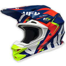 motocross helmet 2017 ufo interceptor 2 helmet flash blue red yellow fluo md