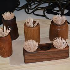 tooth pick holders assorted toothpick holders wooden features art