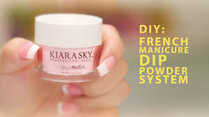 diy kiara sky french manicure dip powder system a pro review