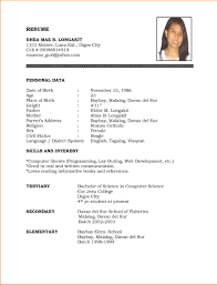 simple resume templates free download simple resume templates for word resume exles