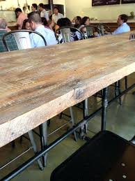 Bar Height Conference Table Reclaimed Wood Bar Height Table Taag Co