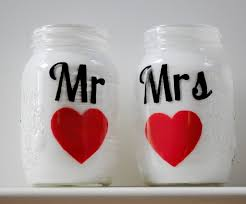 wedding things brides jar wedding reception decor centerpieces mr and mrs