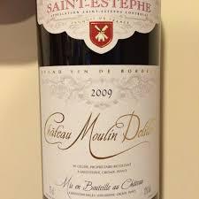 learn about st estephe bordeaux chateau moulin delille estephe 2009 bordeaux review drink