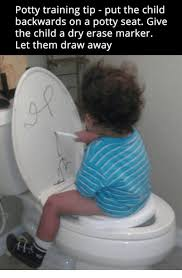 Potty Training Memes - potty training tip put the child backwards on a potty seat give
