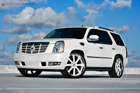 white cadillac escalade strasse forged matte white cadillac escalade transportation in