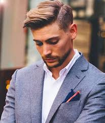 Classic Hairstyle Men by Side Parted Short Mens Hairstyle Back To Oldshcool With Classic