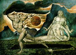 the body of abel found by adam and eve by william blake