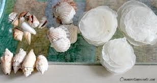 beachy centerpieces diy seashell centerpieces