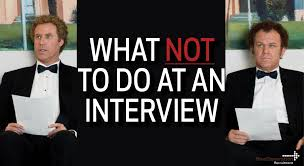 what do you wear to a job interview top 5 things to avoid doing during an interview clicks and clients