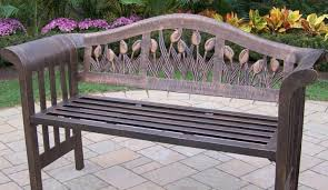 bench appealing aluminum garden furniture engaging home depot