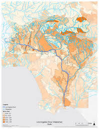 Los Angeles River Map by Where To Recharge La River Index