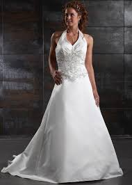 wedding dresses made to order 2012 style made to order halter appliques satin court