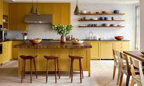light yellow kitchen with white cabinets 34 stylish yellow kitchen ideas designs pictures