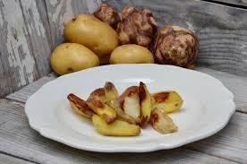 cuisiner des topinambours topinambours et pommes de terre rôtis au four la p tite cuisine de