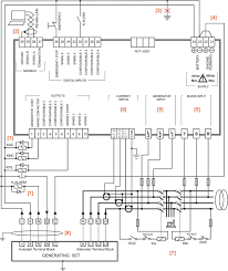 automatic transfer switch circuit diagram u2013 genset controller