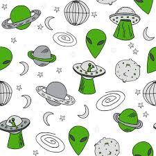 Ufo Upholstery Ufos Ufo Alien Fabric Space Ship Spaceman Fabric Andrea Lauren