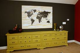 Diy World Map by Diy Plywood World Map Knock It Off East Coast Creative Blog