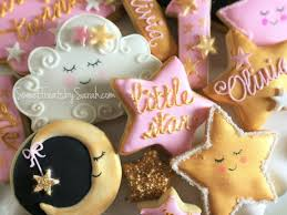 twinkle twinkle decorations twinkle twinkle cookies pink and gold littlestar