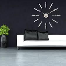 amazing wall clock decor home designing