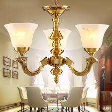 Small Chandeliers For Living Room 3 Light Glass Shade Brass Chandeliers For Living Room