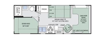 Small Rv Floor Plans Rv Rental Rv Dealer In Kitchener Leisuredays Rv