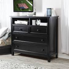 Bedroom Dresser Furniture Bedroom Dressers And Chests Black Media Chest Of Drawers