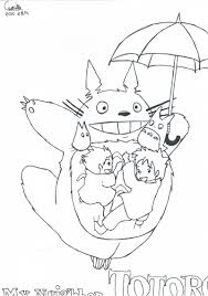 totoro coloring pages snapsite me