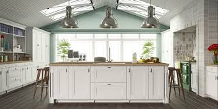 cute design ideas of traditional kitchen with rectangle shape