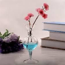 romantic glass bowl vase transparent terrarium glass containers