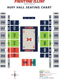 University Of Illinois Map University Of Illinois Online Ticket Office Seating Charts