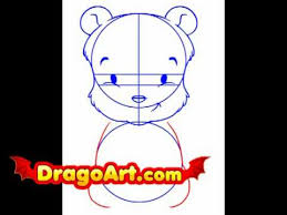 draw baby pooh step step
