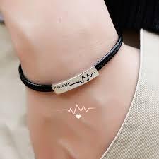 bracelet for coise bracelets black leather bracelet beat of my