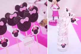 minnie mouse birthday party kara s party ideas disney minnie mouse girl pink 2nd birthday