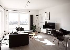 Scandinavian Home Decor Mixed With A Minimalist Use Of Wood In Warsaw - Minimalist home decor