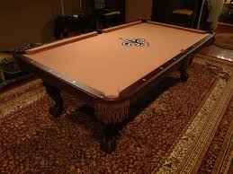Custom Cloth Pool Table Cover W E M Distributors Included W Each New Pool Table Easily A