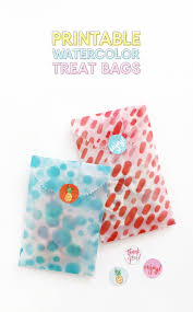 treat bags diy printable treat bags make your own goodie bags lou