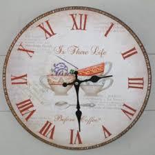 horloges cuisine horloge cuisine style cottage anglais horloges cuisine
