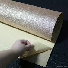 self stick paper strong self adhesive glitter wallpaper rolls for walls peel and