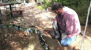 how to wine bottle edging for your garden beds project youtube