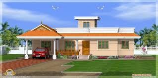 30 40 site kerala type elevation single floor house plan ideas