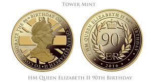 hm queen elizabeth ii 90th birthday commemorative medal for