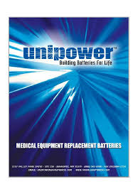 unipower batteries biomedical catalog 1 11 pdf